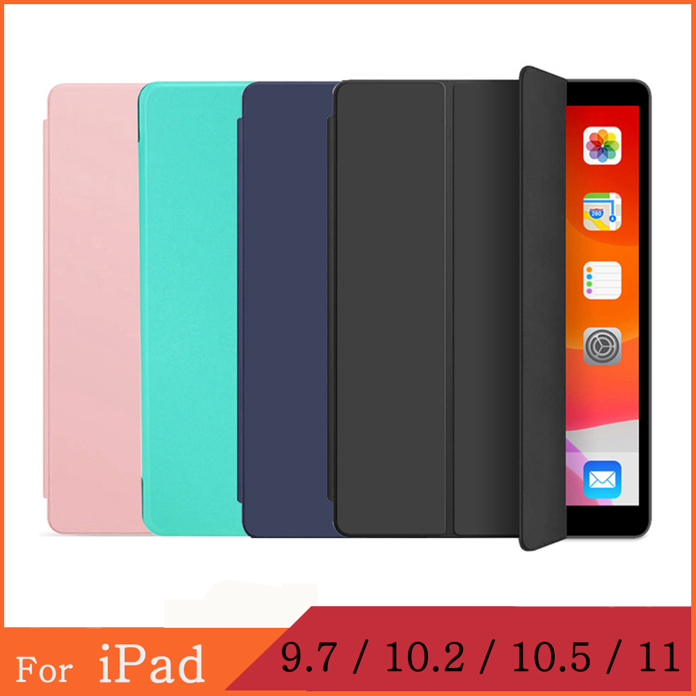 Magnetic Case for Apple <font><b>iPad</b></font> <font><b>Pro</b></font> 2th 3th 4th 5th 6th 7th Generation <font><b>9.7</b></font> 10.5 11 <font><b>2017</b></font> 2018 2020 funda <font><b>iPad</b></font> Air 1 2 3 Smart Cover image