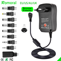 30W Universal AC Adapter Reversible Polarity Multi Voltage DC Power Supply for LCD LED Light Strip Router HUB Speaker