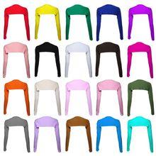 Bayan müslüman tek parça uzun omuz kollu şal kol kapağı omuz silkme kırpma üst Modal Bolero tarzı islami başörtüsü aksesuarları