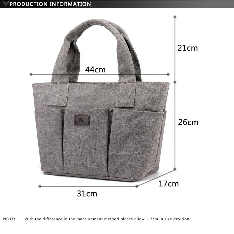 Vintage women handbag luxury designer Canvas Bag High Quality Multi Pocket Designer handBags Unisex bag supplier Cheap wholesale