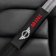 2 шт накладки на автомобильный ремень безопасности для bmw mini