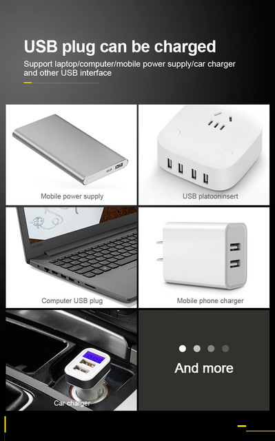 VOXLINK battery charger Smart charging 1 slot USB 18650 26650 18350 32650 21700 26700 26500 Li-ion Rechargeable Battery charger 6