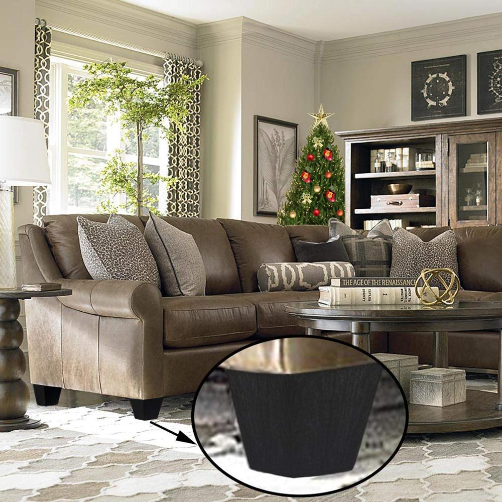 1 6 Inch High Sofa Legs Square Plastic