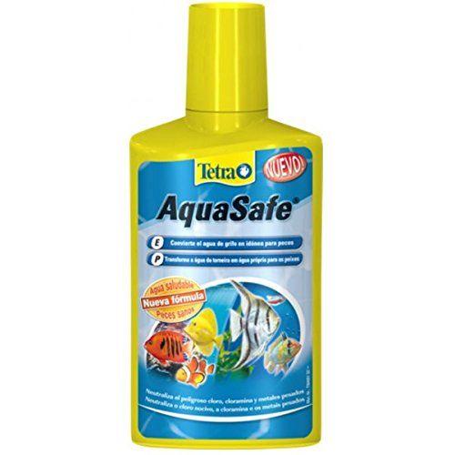 Tetra Aquasafe Tratamiento Del Agua (2 Formatos)