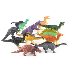 12 dinosaur toys, solid animal model furnishings, children's simulation static dinosaurs 8pcs set simulation solid dinosaur toys pvc collecta dinosaurs figures oviraptor pteranodon animals model toys for boys gifts