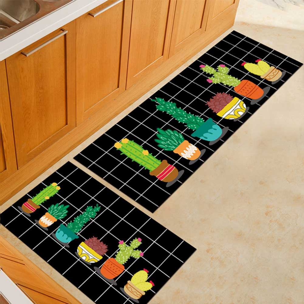 Washable Kitchen Mats with Anti Slip Bottom for Kitchen and Hallway Entrance Floor 33