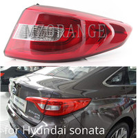 MZORANGE Tail Light For Hyundai Sonata 9 2015   2017 Car Light Assembly Auto Rear Turning Signal Brake Lamp Warning Bumper Light