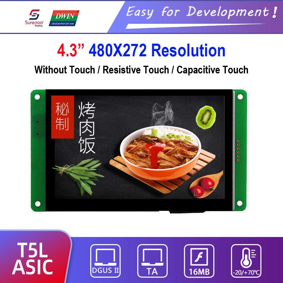 Dwin T5L HMI Intelligent Display, DMG48270C043_03W 4.3