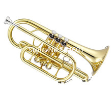 High Quality Jupiter Bb Cornet JCR-700 Brass Trumpet International musical instrument With Case Free Shipping