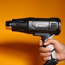 Heat-Gun Power-Tool Four-Nozzle Advanced Electric DEKO 2-Temperatures Variable 2000W