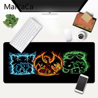 MaiYaCa Pokemons DIY Design Pattern Game mousepad XXL Mouse Pad Laptop Desk Mat pc gamer completo for lol/world of warcraft 5
