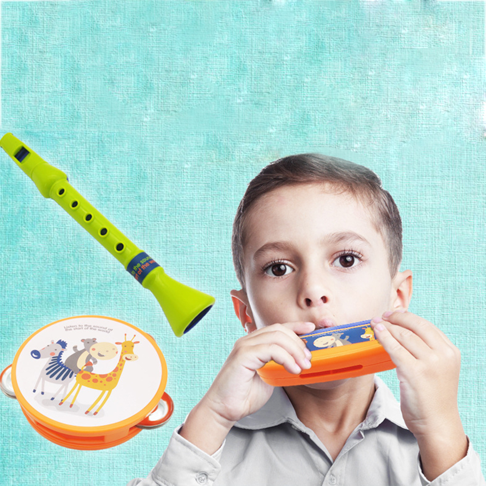 Baby Plastic Shack Rattle Musical Hand Bell Drum Toy Musical Instrument Gif   lq