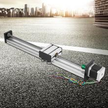 купить Ball Screw Guide Rail 0808 Sliding Table Long Stage Actuator Guide Rail with Nema17 42 Stepper Motor linear guide rail дешево