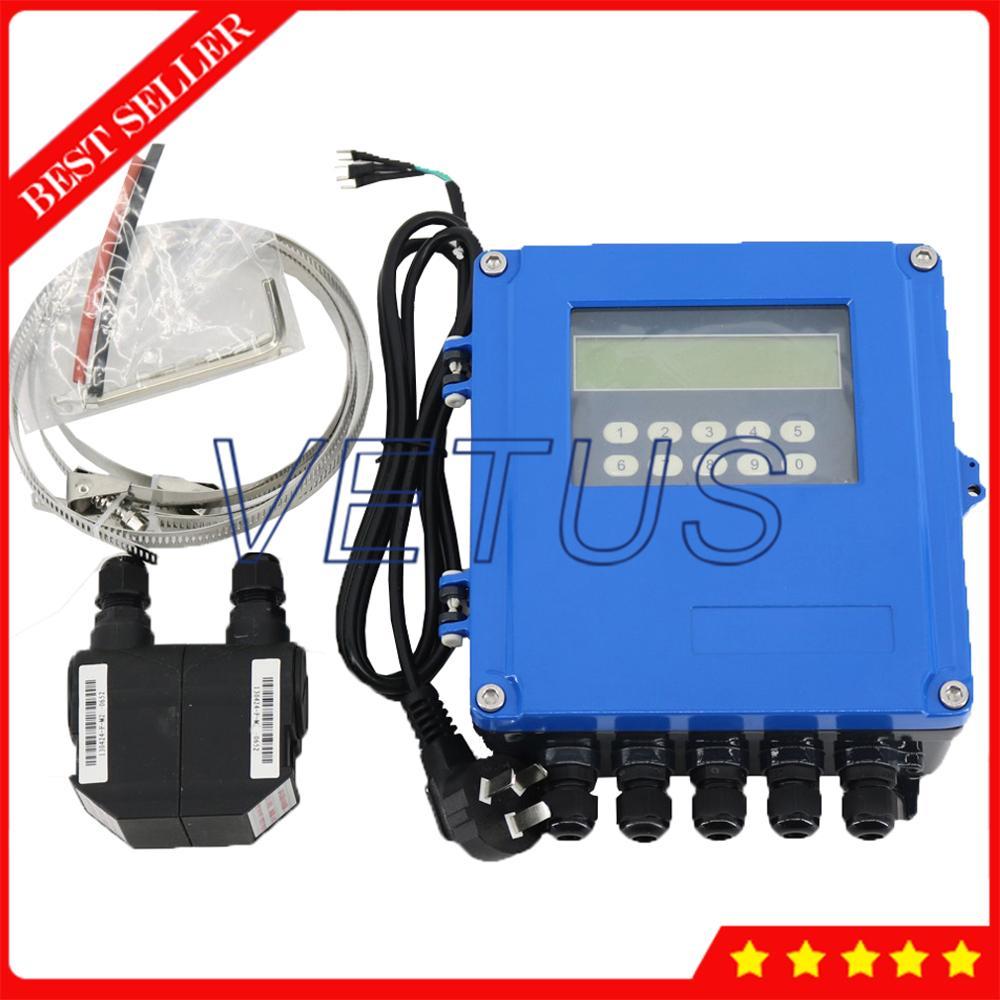 Aletler'ten Su saatleri'de TDS 100F5 M2 Ultrasonik Debimetre Debimetreler Sıvı Su Yağ DN50 ~ 700mm 1.97 ~ 27.56in ile M2 Dönüştürücü
