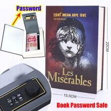 Caja de Seguridad con contraseña Digital para almacenamiento en el hogar, casillero de seguridad secreto oculto con cerradura de Metal