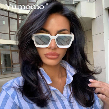 New Vintage Square Sunglasses Women's Men Retro Brand Designer Fashion Colorful Sun Glasses Female Eyewear UV400 Oculos De Sol new arrival fashion uv400 sunglasses men 2019 vintage colorful reflective glasses women