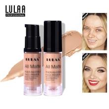 LULAA Full Cover 3 Color Concealer Liquid  Makeup Eye Dark Circles Cream Face Corrector Waterproof Make Up Cosmetic Beauty 1/2pc
