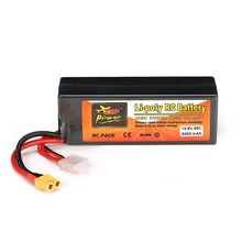 ZOP Power 14.8V 6000mAh 45C 4S 1P Lipo Battery XT60 Plug Rechargeable for RC Racing Drone Quadcopter Helicopter Car Boat Model 2018 newest batch for infinity lihv 1500mah 4s 85c 15 2v 22 8wh rechargeable lipo battery for rc racing racer power spare parts