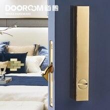 Dooroom латунный замок для раздвижной двери, набор ручек, чердак, скандинавский, толкатель, деревянная дверь, интерьер, гостиная, ванная комната, балкон, кухня