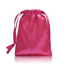 50 pcs 10*13cm 좋은 품질 월경 컵 가방 헝겊 가방 레이디 컵 가방 코파 월경