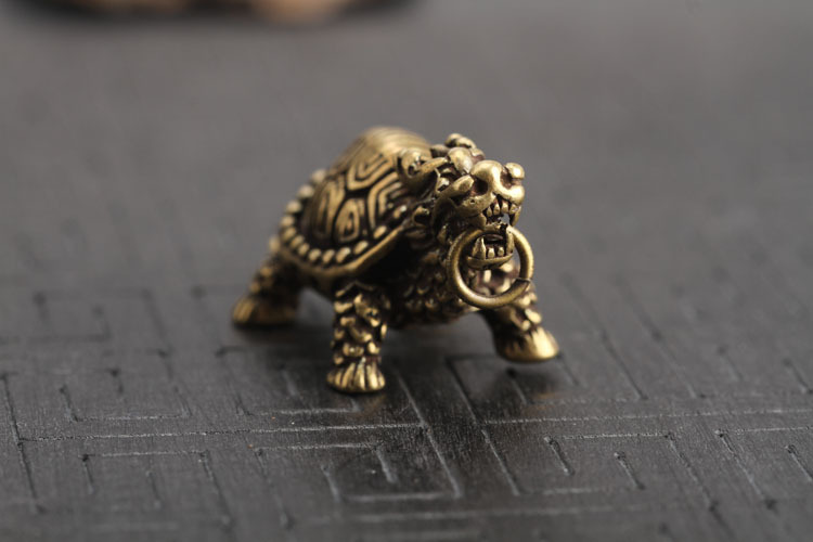 Dragon Turtle Keychains Pendants  (8)