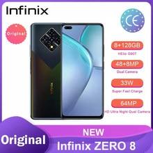 Infinix ZERO 8 Versão Global 128G 8G RAM Octa Núcleo 4 90Hz 6.8