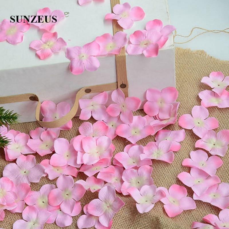 Image 5 - 4.5CM Flower Girl Petals Artificial Rose Petals Polyster Cloth Wedding Petals Party Decoration Evening Flowers Accessories SJ007Rose Petals   -