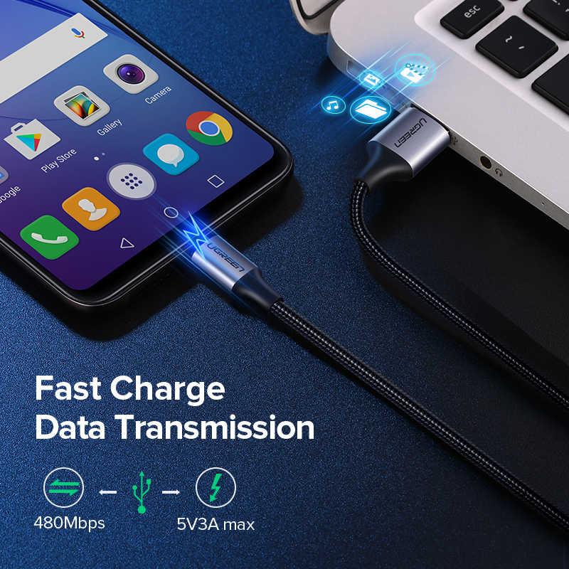 สายUSB Micro USBสำหรับSamsung Galaxy S7 S6 Fastชาร์จโทรศัพท์มือถือสำหรับXiaomiแท็บเล็ตUSBสายลวด