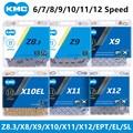 КМК MTB/цепь для дорожного велосипеда Z8.3 Z9 X8 X9 X10 X11 X12 EPT/EL/SL инструмент для демонтажа цепи велосипеда (8, 9, 10, 11, 12, скорость бренд 116L/126L новый ориг...