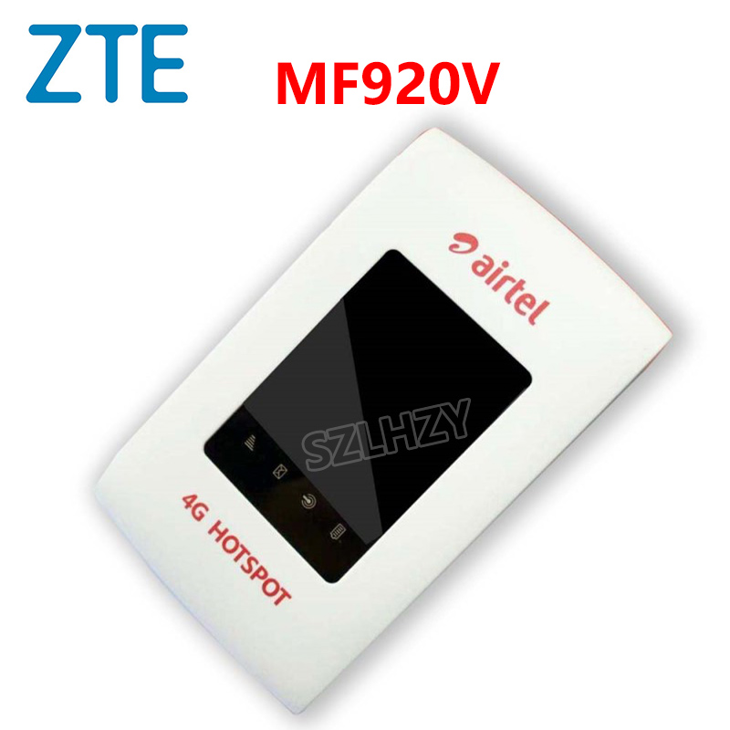 Unlocked ZTE MF90 MF920V 4G WIFI Router 150mbs Mifi Mobile Hotspot Pocket 4G Modem Carfi 2000mah Battery With SIM Card Slot