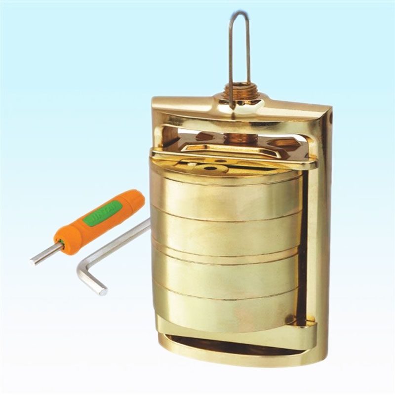 Dental Laboratory Spring Press Compress With Two Bronze Flask Upper And Lower Dental Flask And Compressor