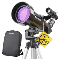 Celestron PowerSeeker 70400 Astronomy Telescope Compact Portable Tripod Space telescopic for beginners / student