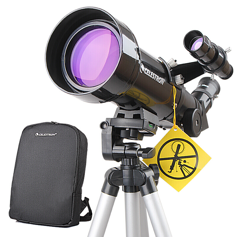 Celestron PowerSeeker 70400 Astronomy Telescope Compact Portable Tripod Space telescopic for beginners / student image
