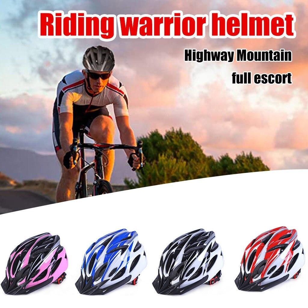 Casco ciclismo унисекс велосипедный шлем сверхлегкий MTB дорожный велосипедный шлем для горного велосипеда для спортивной езды безопасный шлем ин...
