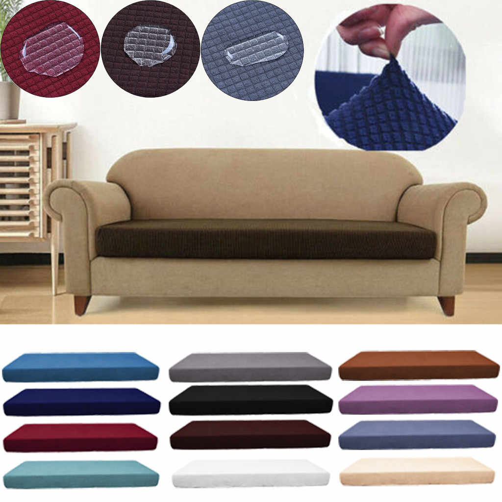 S, M, L, XL Seats cover Waterproof Sofa Seat Cushion Cover Couch Stretchy Slipcovers Protector 100% waterproof material