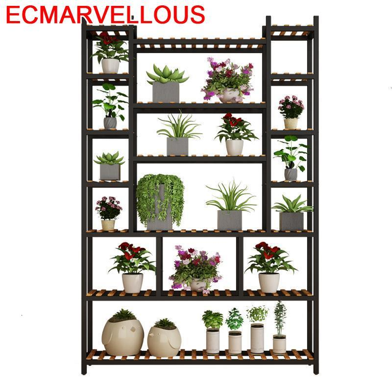 Estante Para Plantas Living Room Shelf Escalera Decorativa Madera Dekoration Rack Stojak Na Kwiaty Outdoor Flower Plant Stand