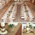 Мешковина в рулоне, Настольная дорожка, стул, пояс, мешочек для столовых приборов, винтажная деревенская свадьба, помолвка, свадебный душ, Ро...