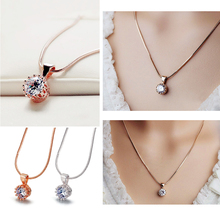 Crown Pendant Necklace for Women Na01
