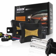 2x 55W H7 Car Auto Xenon HID Headlight Light Bulbs w/ Ballasts Conversion Kit Super bright and low power consumption(China)