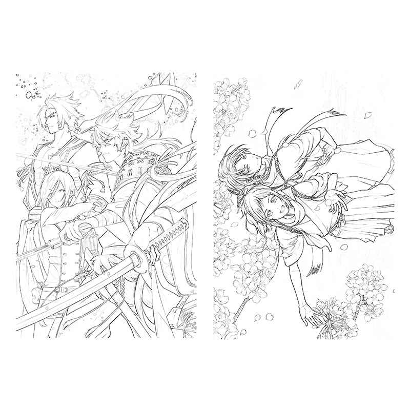 Anime Coloring Book Online