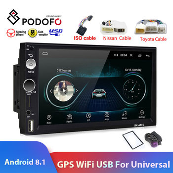 Autoradio à écran Tactile De 7 Pouces | Podofo 2din Android8.1 7