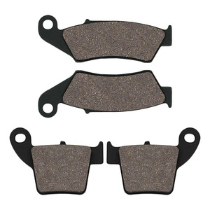 Motorcycle Front & Rear Brake Pads for Honda CR125R CR250R 02-07 CR 250R CRF250R CRF250X 04-17 CRF450R 02-18 CRF450X 2005-2018(China)