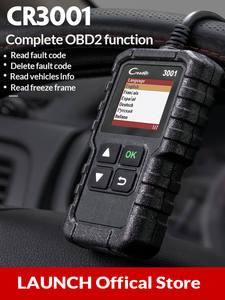 LAUNCH Scanner OBD Code-Reader Car-Diagnostic-Tool Elm327-Scan-Tool CR3001 CR319 2-Engine