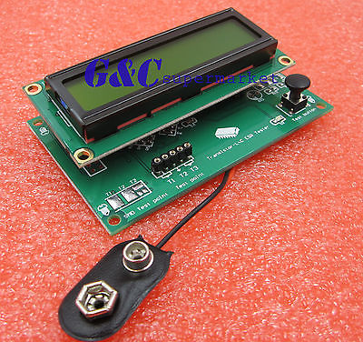 TS M8N Транзистор тестер Mul funconal lcd подсветка диод Триод метр N14D|Интегральные схемы|   | АлиЭкспресс