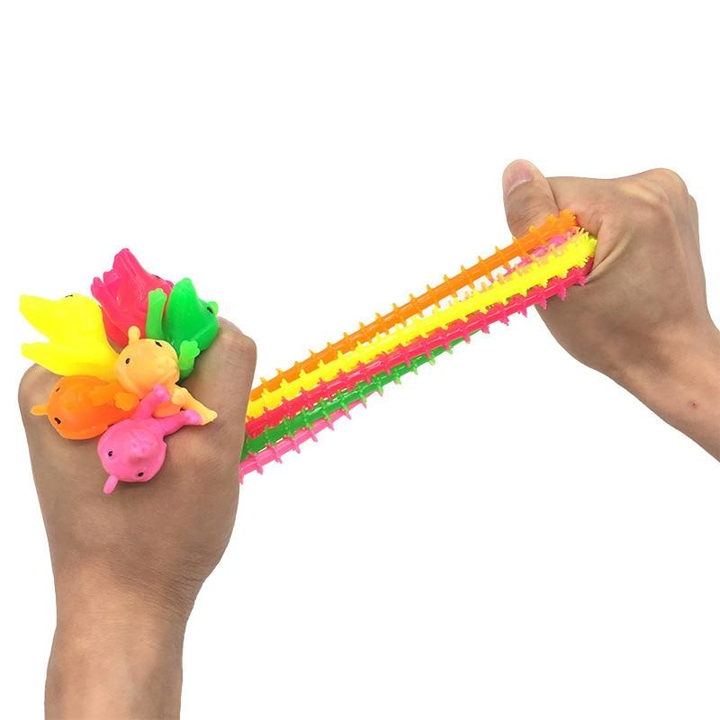 Fidget Autism Vent-Toy Rope-String Worm-Noodle Adults Kids Children TPR for 3pcs/Set img3