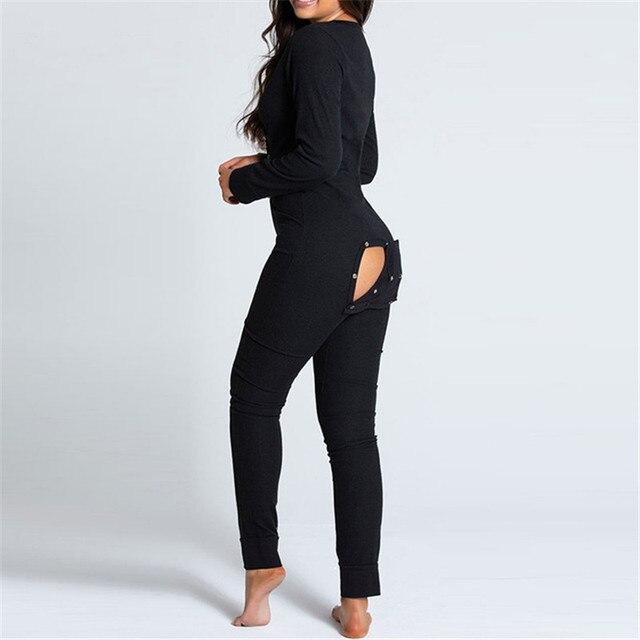 Sexy Ladies Onesie With Butt Flap  6