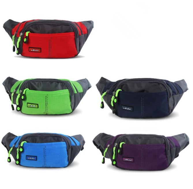 Fitness Sports Waist Pack Women's Put Mobile Phone Men's Water-Resistant Hiking Money To Bag Walk Waist Bag Small