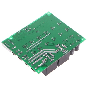 Image 4 - DC 10 55V 12V 24V 36V 48V 55V 100A contrôleur de vitesse moteur PWM HHO RC affichage de interrupteur avec LED de contrôle inverse