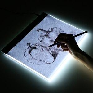 Image 5 - Zeichnung Board Tablet Schreiben Malerei Licht Box Tracing Board Kopie Pads Digitale Zeichnung Tablet Artcraft A4 Kopie Tabelle LED Board