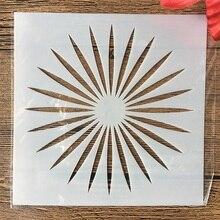 Sun-Light Painting Layering Stencils Embossing-Album-Decorative-Template Scrapbook-Coloring